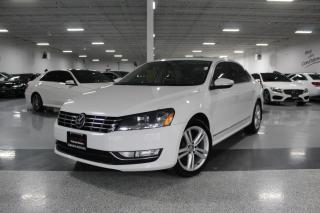 Used 2012 Volkswagen Passat TDI I NO ACCIDENTS I NAVIGATION I LEATHER I SUNROOF I BT for sale in Mississauga, ON