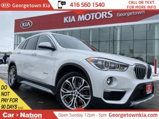 Used 2016 BMW X1 xDrive28i | LEATHER | B/U CAM | AWD | BLUETOOTH | for sale in Georgetown, ON