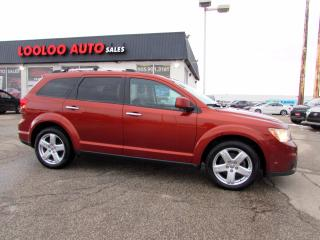 Used 2012 Dodge Journey R/T AWD 7 PASSENGER NAVIGATION CAMERA CERTIFIED for sale in Milton, ON