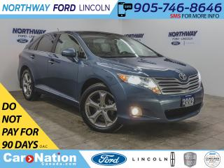 Used 2009 Toyota Venza AWD | NAV | HTD LEATHER | PUSH START | SUNROOF | for sale in Brantford, ON