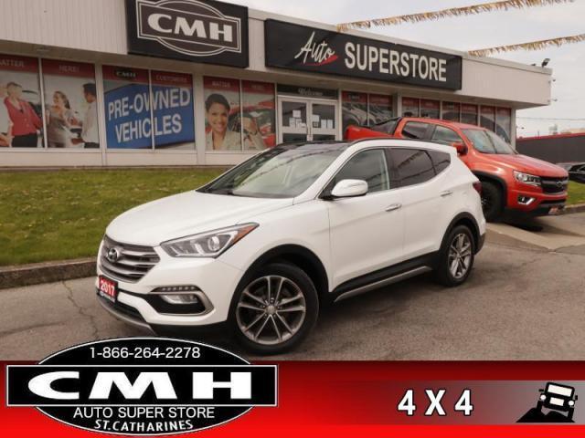 2017 Hyundai Santa Fe Sport 2.0T SE  AWD LEATH ROOF CAM