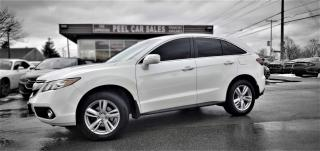 Used 2014 Acura RDX 6-Spd AT AWD w/ Technology Package|CERTIFIED| LEATHER| SUNROOF| REARVIEW| for sale in Mississauga, ON