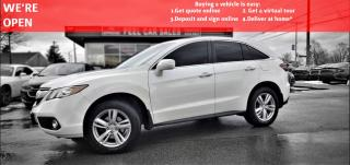 Used 2014 Acura RDX 6-Spd AT AWD w/ Technology Package|VIDEO.CALL.US| LEATHER| SUNROOF| REARVIEW| for sale in Mississauga, ON