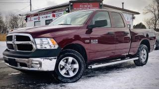 Used 2018 RAM 1500 Tradesman Quad Cab 4WD REARVIEW|HEATEDSEATS|4DOOR|FRESHTRADE| for sale in Guelph, ON