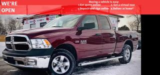 Used 2018 RAM 1500 4WD|4DOOR|VIDEO.CALL.US| REARVIEW|HEATEDSEATS|4DOOR|FRESHTRADE| for sale in Mississauga, ON
