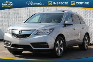 Used 2016 Acura MDX SH-AWD for sale in Ste-Rose, QC