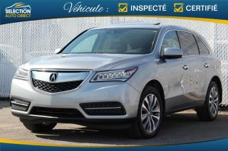 Used 2016 Acura MDX Navigation SH-AWD for sale in Ste-Rose, QC