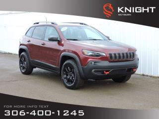New 2020 Jeep Cherokee Trailhawk Elite 4x4 | Leather Heated Seats | Sunroof | Navigation | Remote Start | Back-up Camera for sale in Weyburn, SK