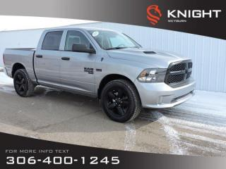 New 2020 RAM 1500 Classic Black Express Crew Cab 4x4 | Night Edition | Heated Seats | Remote Start | Back-up Camera | BT for sale in Weyburn, SK