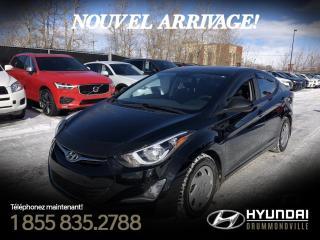 Used 2016 Hyundai Elantra SE + GARANTIE + TOIT + CAMERA + MAGS + F for sale in Drummondville, QC