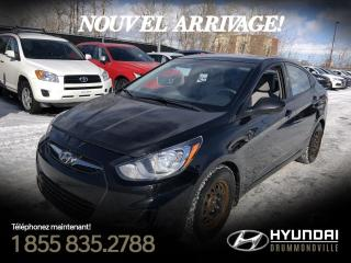 Used 2014 Hyundai Accent GL + A/C + CRUISE + BLUETOOTH + SIÈGES C for sale in Drummondville, QC