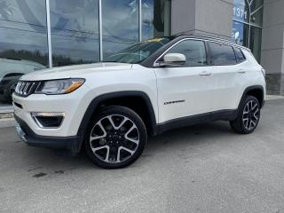 Used 2018 Jeep Compass LIMITED , 4X4 , ECRAN 8.4'' , NAV , CUIR for sale in Ste-Agathe-des-Monts, QC