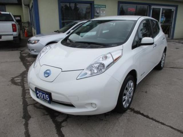 2015 Nissan Leaf ZERO-EMISSION 'S-EDITION' 5 PASSENGER ELECTRIC ENGINE.. ECO-BOOST.. HEATED SEATS.. HEATED STEERING WHEEL.. BACK-UP CAMERA.. BLUETOOTH..