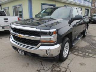 Used 2018 Chevrolet Silverado 1500 LIKE NEW LT EDITION 6 PASSENGER 5.3L - VORTEC.. 4X4.. QUAD-CAB.. SHORTY.. HEATED SEATS.. BACK-UP CAMERA.. BLUETOOTH SYSTEM.. KEYLESS ENTRY.. for sale in Bradford, ON