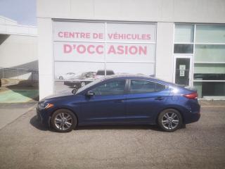 Used 2017 Hyundai Elantra GL SIEGES ET VOLANT CHAUFFANT, DEMARREUR A DISTANCE for sale in Montréal, QC
