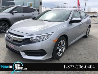 Used 2017 Honda Civic LX pneus hivers et été for sale in Shawinigan, QC