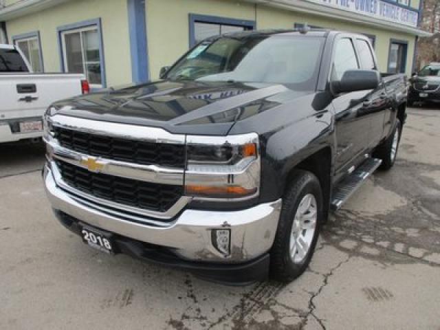 2018 Chevrolet Silverado 1500 LIKE NEW LT EDITION 6 PASSENGER 5.3L - VORTEC.. 4X4.. QUAD-CAB.. SHORTY.. HEATED SEATS.. BACK-UP CAMERA.. BLUETOOTH SYSTEM.. KEYLESS ENTRY..