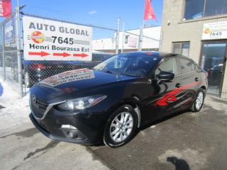 Used 2014 Mazda MAZDA3 Berline 4 portes, boîte automatique, GS- for sale in Montréal, QC