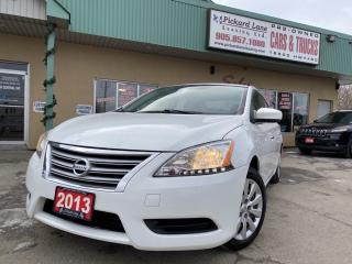 Used 2013 Nissan Sentra 1.8 SV for sale in Bolton, ON