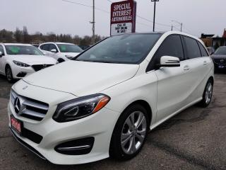 Used 2016 Mercedes-Benz B-Class Sports Tourer LOW KMS !!  NAVIGATION !!  SUNROOF !! for sale in Cambridge, ON