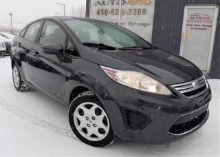 Used 2011 Ford Fiesta ***SE,BERLINE,BAS KILOMETRAGE,A/C,PNEUS for sale in Longueuil, QC
