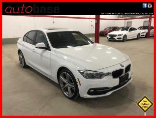 Used 2017 BMW 3 Series 330I xDrive SPORT PREMIUM ENHANCED DRIVER ASSISTANCE CLEAN CARFAX! for sale in Vaughan, ON