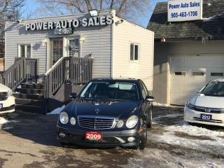 Used 2009 Mercedes-Benz E-Class 4dr Sdn 3.5L 4MATIC for sale in Brampton, ON