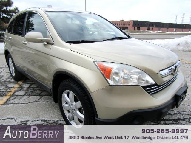 2007 Honda CR-V EXL - 4WD - NAVI