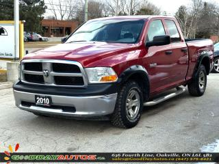 Used 2010 Dodge Ram 1500 ST|LOW KM|NO ACCIDENT|REMOTE STARTER|BT|CERTIFIED for sale in Oakville, ON