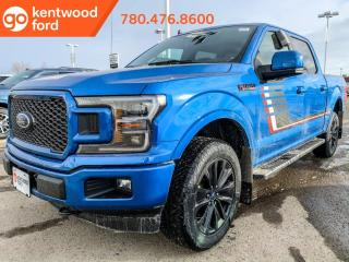 New 2020 Ford F-150 LARIAT 502A 4X4 SuperCrew 5.0L V8, Auto Start/Stop, Lane Keeping System, Pre-Collision Assist, Remote Keyless Entry/Keypad, and Remote Vehicle Start for sale in Edmonton, AB