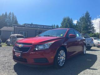 Used 2012 Chevrolet Cruze Eco w/1SA for sale in Black Creek, BC