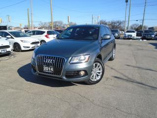 Used 2014 Audi Q5 QUATTRO AWD  NAVIGATION BROWN LEATHER PANORAMIC for sale in Oakville, ON