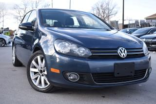 Used 2013 Volkswagen Golf Highline 6S-  NAV - for sale in Oakville, ON