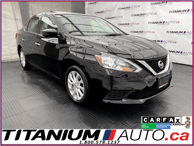 2019 Nissan Sentra SV+Camera+Sunroof+Emergency Brake+Apple Play+XM+