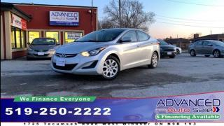 Used 2016 Hyundai Elantra GL for sale in Windsor, ON