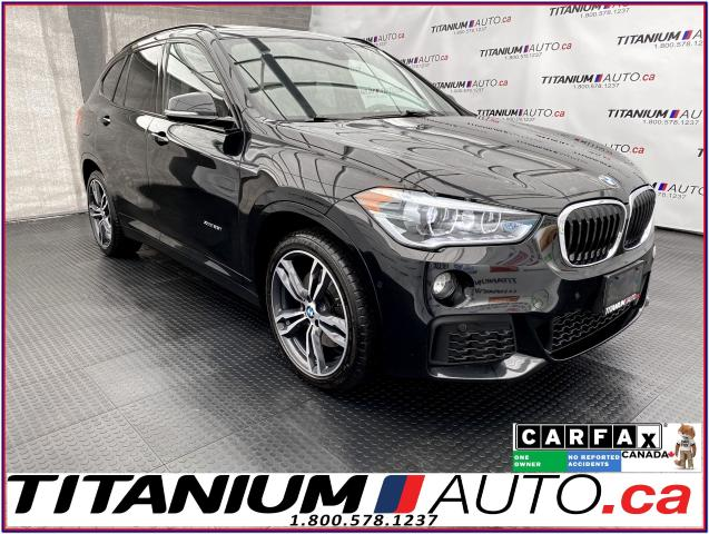 2016 BMW X1 M-PKG+GPS+Camera+Pano Roof+Lane Assist+xDrive+XM+