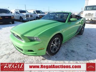 Used 2014 Ford MUSTANG PREMIUM 2D CONVERTIBLE 3.7L for sale in Calgary, AB