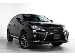 Used 2015 Lexus RX 350 350   F-SPORT   HEADS UP   NAVI   SUNROOF for sale in Vaughan, ON