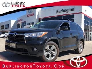 Used 2016 Toyota Highlander LIMITED  for sale in Burlington, ON