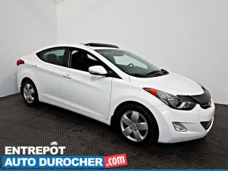 Used 2013 Hyundai Elantra Limited NAVIGATION - Toit Ouvrant - A/C - Cuir for sale in Laval, QC
