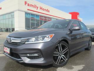 Used 2017 Honda Accord Sedan 4dr I4 Man Sport | EXCELLENT CONDITION | for sale in Brampton, ON