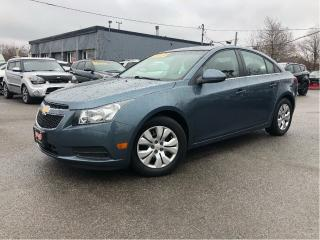 Used 2012 Chevrolet Cruze 4dr Sdn LT Turbo w-1SA Nice Local Trade In!! for sale in St Catharines, ON