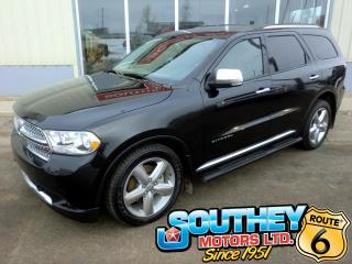 Used 2012 Dodge Durango Citadel AWD - Fully Loaded for sale in Southey, SK