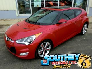 Used 2014 Hyundai Veloster Tech - GPS Navigation for sale in Southey, SK