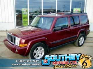Used 2007 Jeep Commander Sport 4x4 - Fully Loaded for sale in Southey, SK