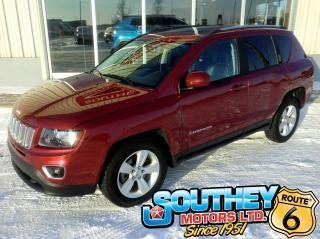 Used 2016 Jeep Compass High Altitude 4x4 - Fully Loaded for sale in Southey, SK