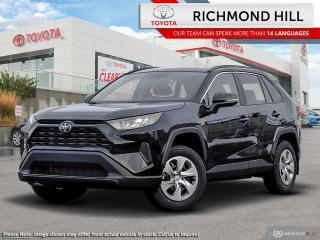 New 2020 Toyota RAV4 LE AWD  - Heated Seats - $104.21 /Wk for sale in Richmond Hill, ON