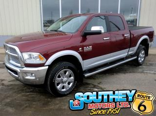 Used 2017 RAM 2500 Laramie Heavy Duty 4x4 - Only 58,000 km's! for sale in Southey, SK