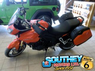 Used 2010 Triumph Tiger 1050 - Only 11,000 km's for sale in Southey, SK