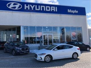 Used 2017 Hyundai Elantra for sale in Maple, ON